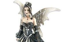 La Magia de las hadas / Figurillas de hadas de artistas reconocidos mundialmente.
