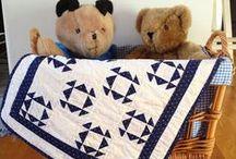 A Mini Quilt / mini little small miniature quilt / by Suman R