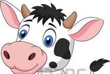 vacas / by Mary Elisabet Alvarado