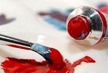 Art Tips / Art Tips Secrets Painting Acrylic Watercolour Brushes Mixing
