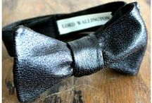 Rockin' Bow Ties / You will never find Mid without a stylish bow tie!