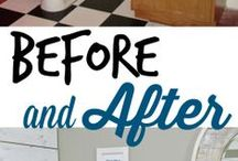 Home makeovers / Before and after home makeovers