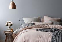 SLAAPKAMER / Slaapkamer, bed, accessoires, aankleding, dekbedden, sprei, kussens