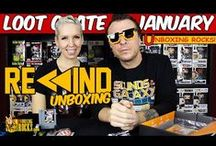 Loot Crate / Unboxing Loot Crate