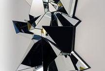 IB art exhibition / Crystals.Prisms.Minerals.Diamonds.Gems.