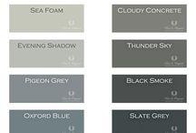 COLORS / Verf, kleuren, wit, klei, groengrijs, Painting the Past, kalkverf, krijtverf, groen, grijs, neutraal