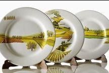 Ceramica artistica Umbria - Umbrian art crafts - Collezione Visioni / Ceramiche artigianali dipinte a mano- Handmade ceramics - Materia Ceramica, via dei Priori 70 Perugia