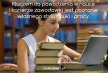 Edukacja | Nauka / Nieodłączną częścią życia każdego z nas powinien być ciągły rozwój umiejętności, które są nam potrzebne do prowadzenia szczęśliwego, pełnego i owocnego życia.
