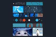 Arctic A/W15 - Moodbard