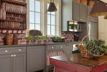 Country Kitchens / Best interior design and home décor ideas for your country kitchen.