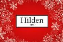 Hilden Christmas Gift Ideas / Hilden's Christmas selection of luxury bedding and quality table linen will ensure you give your guests a memorable Christmas and New Year, or make wonderful gifts for family and friends.