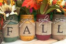 Fall and Thanksgiving Decor / Home décor and decorating ideas for the fall season and Thanksgiving holiday.