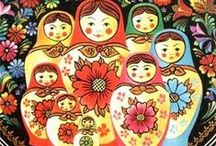 "Matryoshka, Fabergé and Russian craft / Matryoshka Doll, Fabergé and other tradicional Russian crafts  (wood and felt folk dolls, toys, painting... ) - Матрёшка и другие традиционные русские ремесла и промыслы. Clay dolls and toys, and ""how make it..."", глиняные игрушки и куклы, on my  ""Russian traditional clay toys"" board)"