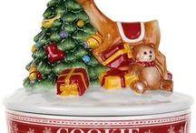 Christmas Cookie Jars / Christmas Cookie Jars
