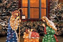 Outdoor Christmas Nativity Sets