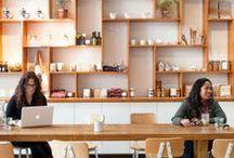 Coffee Shop Design / Coffee shop design. Creative design ideas
