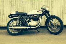 My motorcycle projects / My 63 BSA Lightning Cafe Racer.