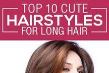 HAIR / Hair styles, Hair care