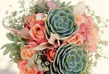 Weddings: Bouquets & Flowers / We love these wedding flowers and bouquets! Here's to stopping and smelling the roses!