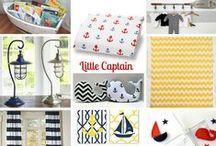 Nautical Nursery / Nautical Baby Room