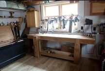 Workbenches & Wood Shop Ideas