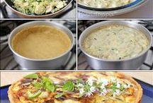 Delícias e gostosuras / Comida gostosa, pratos rápidos e pratos saudáveis.