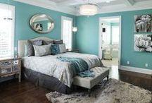 Bedroom Design Inspiration /  www.wherethepolkadotsroam.com
