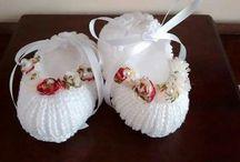 Crochê e tricô bebês - Encanto com as mãos / www.elo7.com.br/encantocomasmaos