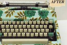 { Machine à écrire }