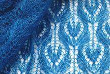 Knitted shawls and stoles (lace and others) / Ажурные (кружевные) и другие шали и палантины, связанные на спицах