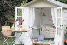 She Shed Decor & Ideas / She Sheds are Man Caves for women.