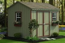 Shed Landscaping Ideas / Ways to make the outside of your shed look great.