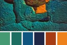 Colors, Textures and Textural Colors / The rich and varied world of color!!