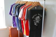 Paulville Goods / Tee shirts for men, a couple for women, and a few for kids.