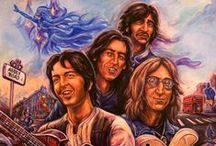 MusicArt: Fab Four / Single board tribute to the greatest band ever. / by Rick Waterworth