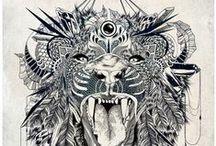 tattoos / by Diana Stef