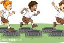 Outdoorspelen / outdoorspelen voor het jonge kind