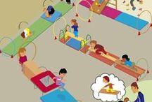 Bewegingsonderwijs / Bewegingsonderwijs kleuters