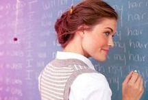 Onderwijs ik ben juf / Uitspraken die helpen nog beter onderwijs te geven! / by Hilda Klip