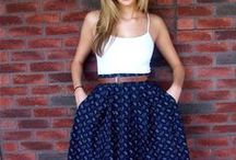 fashion - skirts / Skirts that are girly and chic for anytime of the day and any occasion imaginable. Wear it and own it!