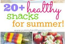 Yummy Summer Eating / Summer foods that are healthy and really tasty!