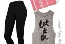 work it girl! / Who doesn't want to look good while getting in shape or running errands? I know I do! Here's to looking good while sporting! #workout