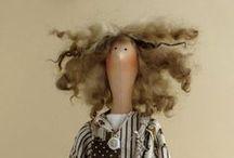 Tildy / o ręcznie wykonywanych  lalkach z bawełny