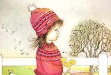 Eloise Wilkin illustrations / kid illustrations