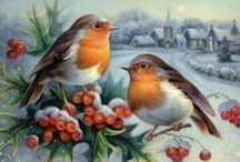 Birds and flowers / paintings and drawings
