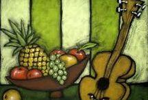 pineapples art