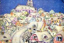 Crowded houses - naiv folk art