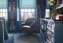 Голубой и бирюзовый цвета в интерьере