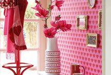 Розовый и сиреневый цвета в интерьере
