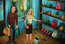 Shopping - art and paintings